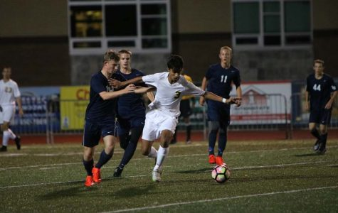Breaking through, #3 Abdul Ali, 10 shoots for the win. leaving with a victory of 3-0, boys soccer comes back form last weeks tie. The team next plays Tualatin on October 11th.