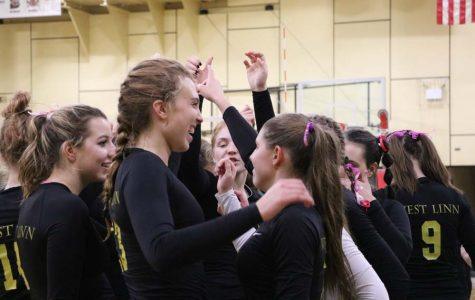 Volleyball leaves with all wins against Canby