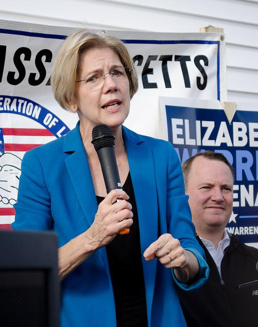 Pictured+above%3A+Elizabeth+Warren+at+a+rally+in+Auburn+Massachusetts.++Photo+by+Tim+Pierce+via+Flickr%2C+cited+under+the+Creative+Commons+License.+As+hearings+continue+for+Trump%E2%80%99s+cabinet%2C+Democrats+will+continue+vetting+the+picks+and+pushing+back+against+the+plethora+of+controversial+choices+in+the+coming+weeks.+With+important+cabinet+members+such+as+Secretary+of+Education+and+Treasury+Secretary+already+decided%2C+tensions+continue+to+rise+over+what+will+be+Republicans+next+step+to+secure+Trump%E2%80%99s+remaining+positions.+