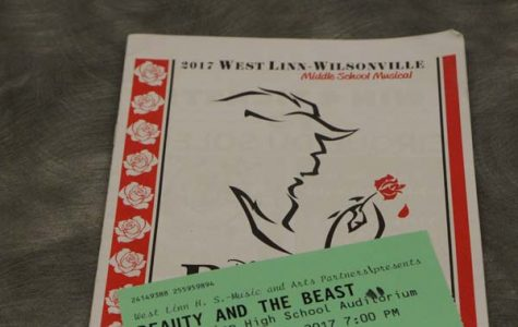 """Premiering on Apr. 20 and running until the 25, the Middle School Musical production of """"Beauty and the Beast"""" dazzled audiences with elaborate costumes and impressive acting. """"This year we had a very minimalistic set, which isn't normal, but the costumes were really extreme,"""" Lane said."""