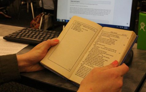 """While sophomores begin to move past one of the optional novels in their newest unit, """"Round House"""" continues to spark controversy for students wishing they were given some warning over the content- if not for themselves, for the safety of other students. """"Warnings are crucial and should be included for books that have mature themes,"""" Kaelyn Cahill, sophomore, said. """"This includes themes such as rape, abuse, NSFW themes, strong explicit language, homophobia or anything that could harm a student's mental health."""""""