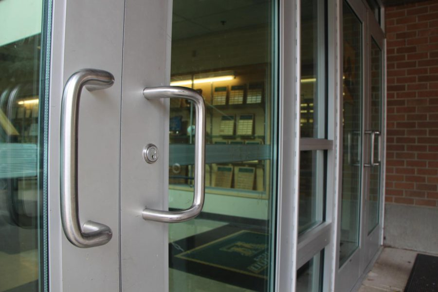 All exterior doors were locked on Wed. Feb. 7, while WLHS endured a lockout. Lockouts are called when there is a threat outside the building. A Lockdown occurs when there is a threat inside the building, and classroom doors must be locked.