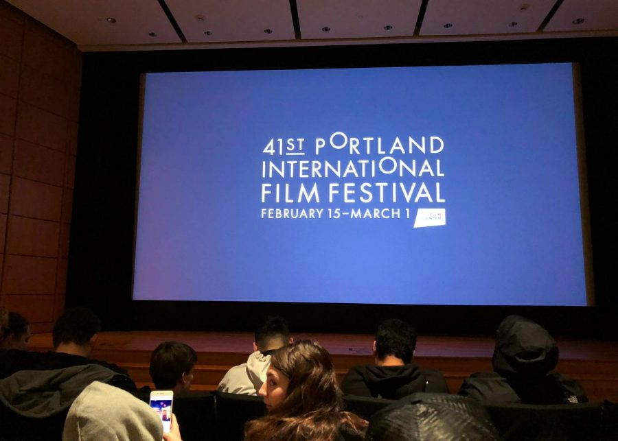 Filmgoers+wait+for+the+film+to+begin+in+the+Whitsell+Auditorium.+The+venue+is+part+of+the+Portland+Art+Museum+and+screens+numerous+movies+with+the+NW+Film+Center.