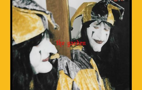 "The Garden's famous icon Joker makes an appearance on the cover of this album ""Mirror Meet Your Charm"". The darkness of the image contrasts the yellow, bright background acting as a sort of symbol for their music's contrasting sounds."