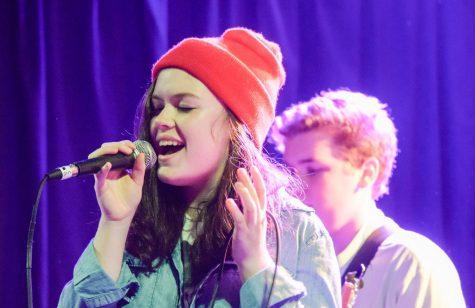 Students in School of Rock perform in Portland