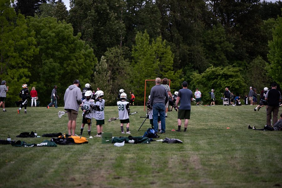 There are three large fields in the middle of the park that are packed year round because of the variety of sports being played. These sports include soccer, lacrosse and Ultimate Frisbee.