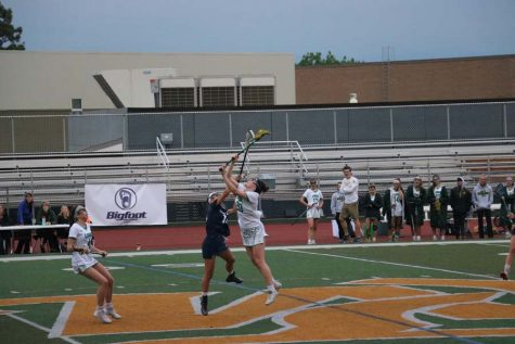 Playoff Game for Girl's Lacrosse