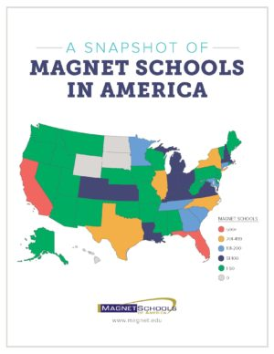 Distribution of America courtesy of Magnet Schools of America