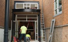 New entryway constructed to improve safety