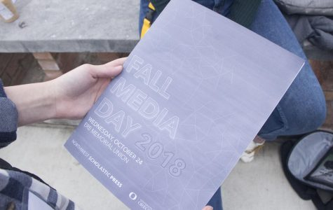 Fall Media Day 2018.  Students traveled to Oregon University in Eugene, OR. Students went to four workshops to learn everything from editing work to how to manage social media.