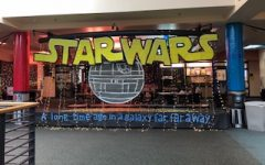 Students decorate porches for homecoming week