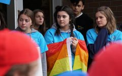 Students share opinions on health curriculum walkout