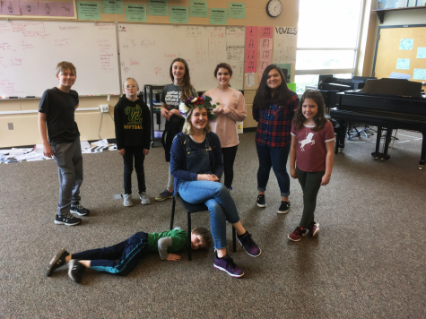 Theatre Department holds Kids Improv Day
