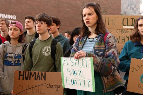 Students march in global climate strike