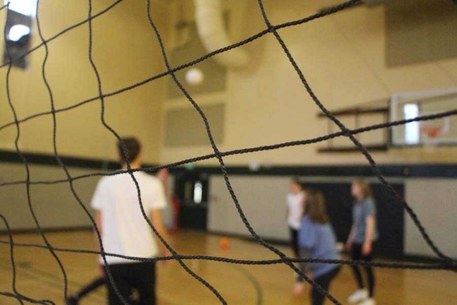 """""""Each unit in wellness lasts three weeks, for these three weeks we will be playing Volleyball,"""" Mr. Cerny said."""