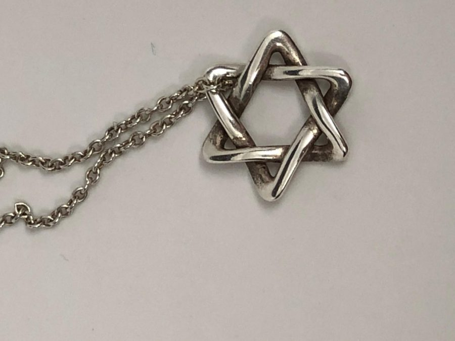 Steinberg carries a representation of her faith with her every day in the form of her Star of David.