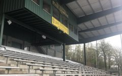 The stands will stay empty, no track or any other athletes until Mar. 31