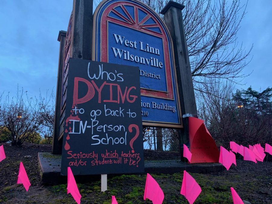 After months of distance learning, West Linn students remain divided over whether they want to return, according to a recent Instagram poll posted by @wlhsnow. In Wilsonville, however, the issue is much less divisive according to Kinsley Dart, a sophomore at Wilsonville High School.