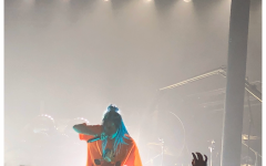 "Billie Eilish performs songs from her album, ""Don't Smile At Me"" on a stop of her ""1 by 1"" tour in Portland, Ore. on Oct. 23, 2018."