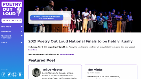 WLHS student competes at state for Poetry Out Loud