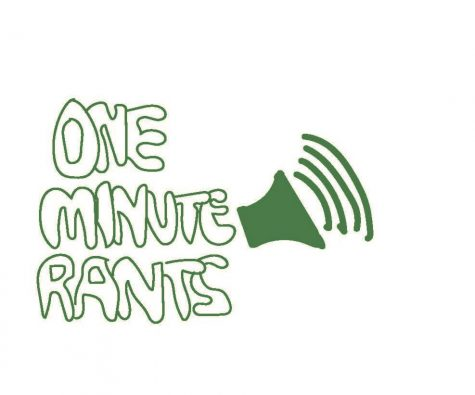 Just one minute and maybe a little more. One Minute Rants, a new podcast available wherever you get them, dives into a wide range of topics and opinions presented by our own staff, but only for one minute.