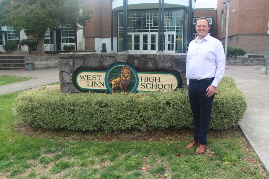 After a year online, Trevor Menne is excited to make in-person connections with students and staff alike.