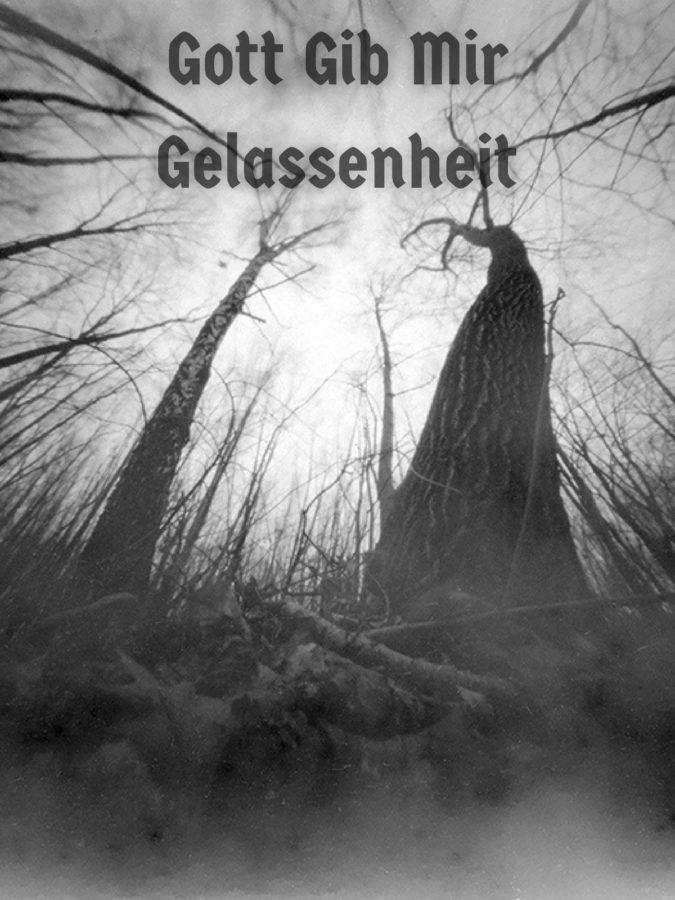 Gott Gib Mir Gelassenheit-orginal digital artwork by Kai Hogan