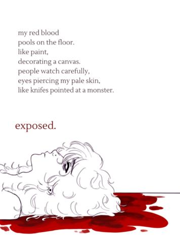 Exposed-original poem and digital art by Spencer Erlandson
